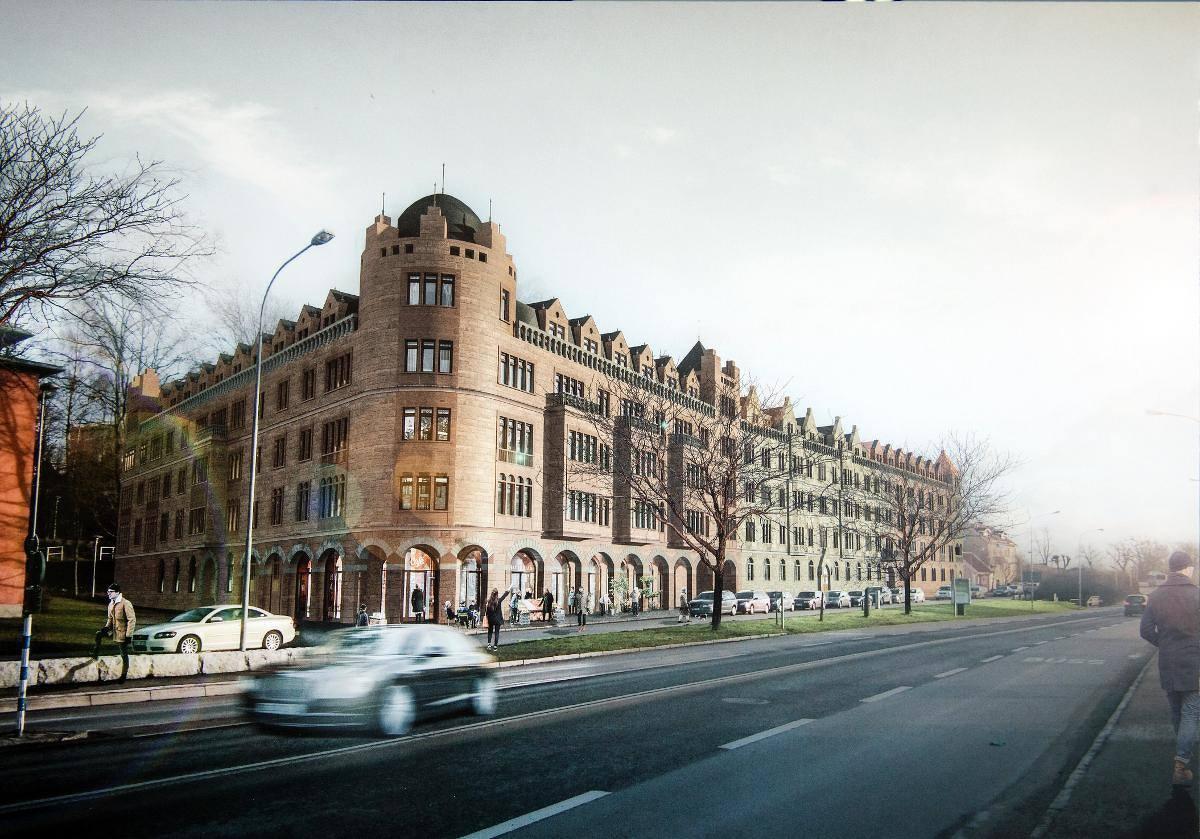 Sigfridshäll är namnet på palatset som IT-entreprenören Björn Sundeby vill bygga i Växjö. Tyvärr försöker modernister stoppa bygget.
