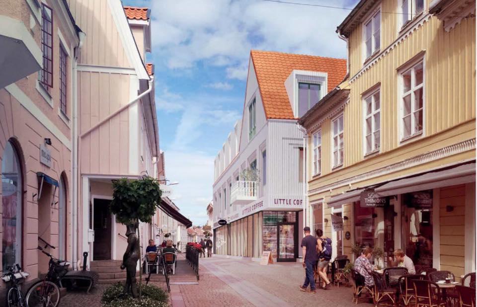 Den nya byggnaden i Eksjö.