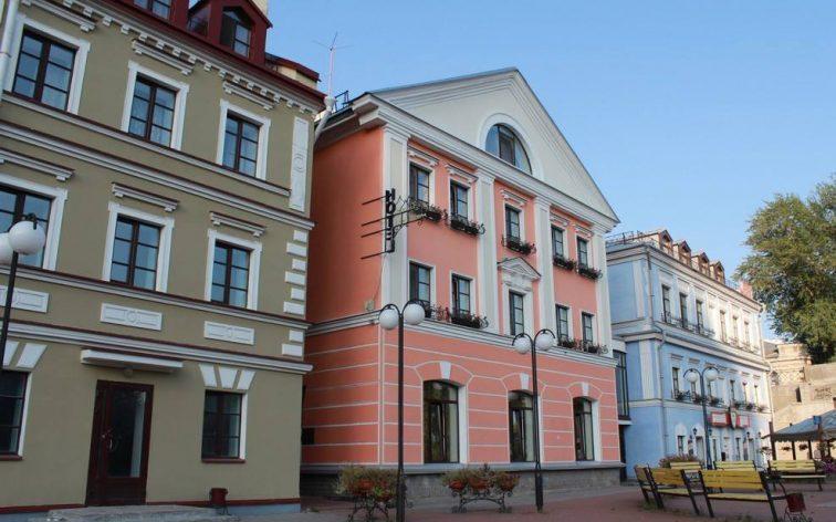 Nyproduktion i ryska Pskov.
