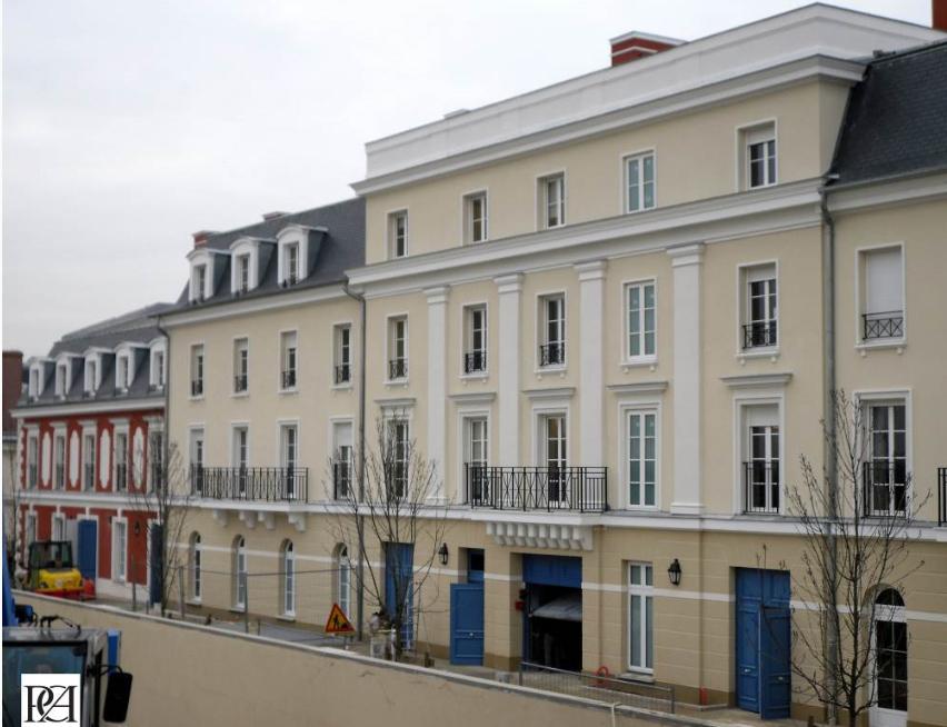 Noble Age Residence utanför Paris uppfördes förra året.