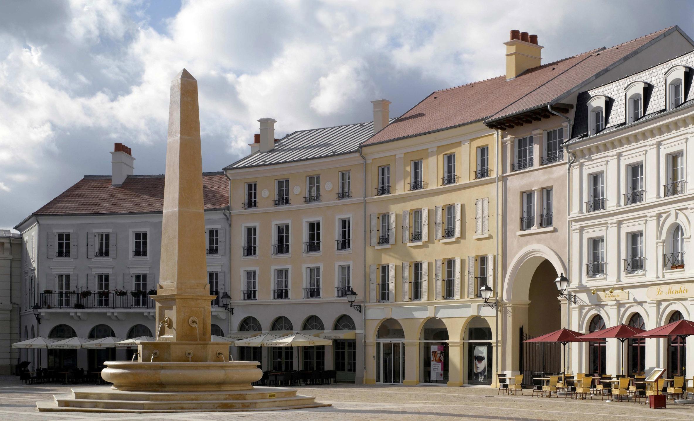 Place de Toscane strax utanför Paris (2002)