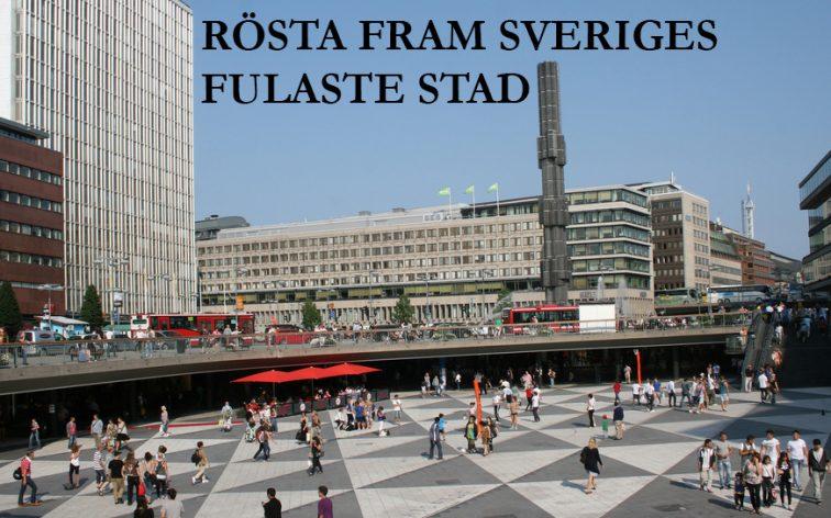 Vilken är Sveriges fulaste stad?