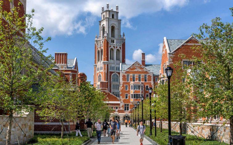 Yale har byggts till med spännande och tidlös arkitektur.