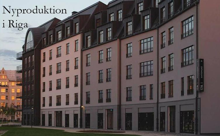 Vacker nyproduktion i Riga