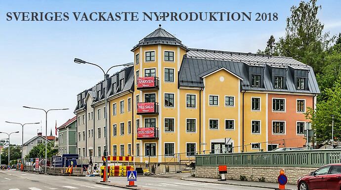 Sveriges vackraste nyproduktion 2018.