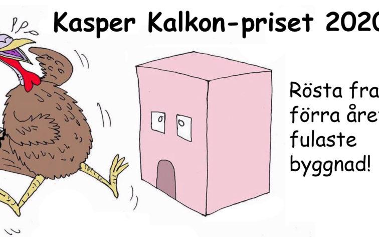 Rösta fram Kasper Kalkon-priset 2020