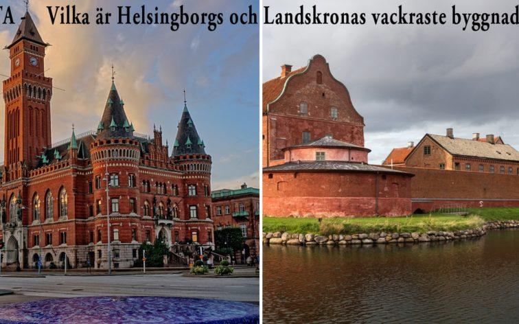 Lista - Helsingborgs och Landskronas vackraste byggnader.