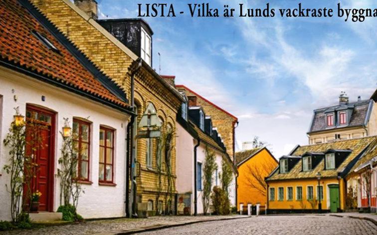 Lista - Lunds vackraste byggnader