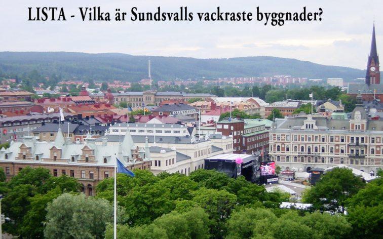 Lista - Sundsvalls vackraste byggnader.