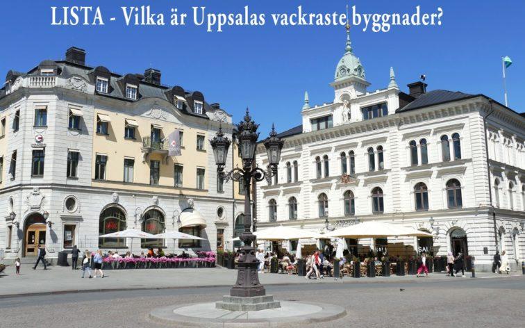 Lista - Uppsalas vackraste byggnader.