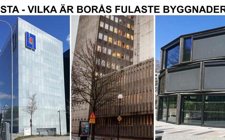 Lista - Borås fulaste byggnader.