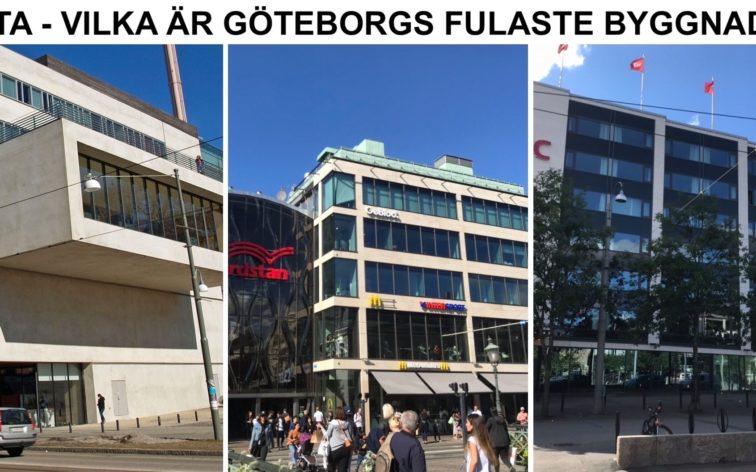 Lista - Göteborgs fulaste byggnader.