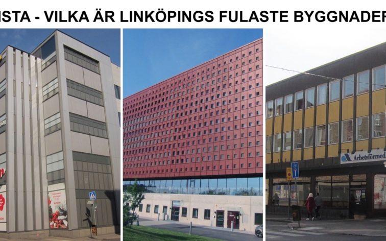 Lista - Linköpings fulaste byggnader.