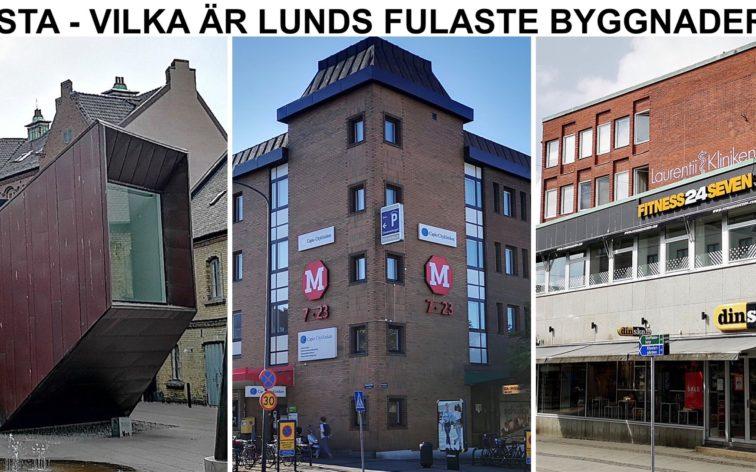 Lista - Lunds fulaste byggnader.