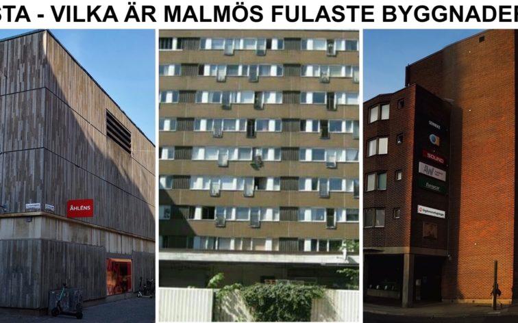 Lista - Malmös fulaste byggnader.