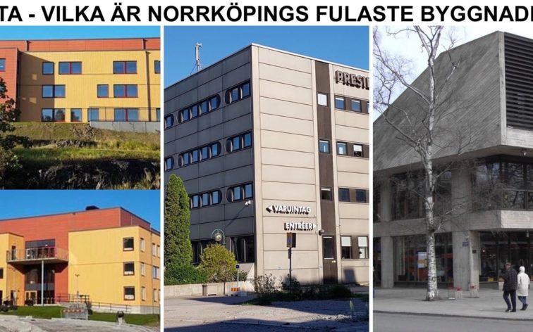 Lista - Norrköpings fulaste byggnader.