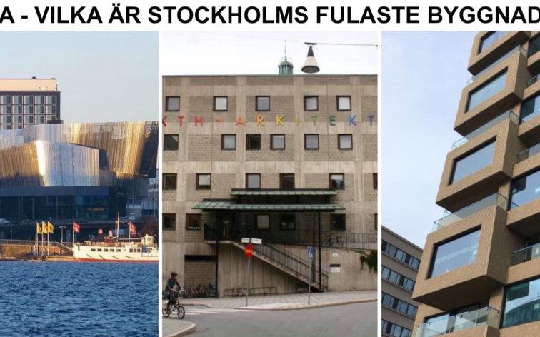 Lista - Stockholms fulaste byggnader.