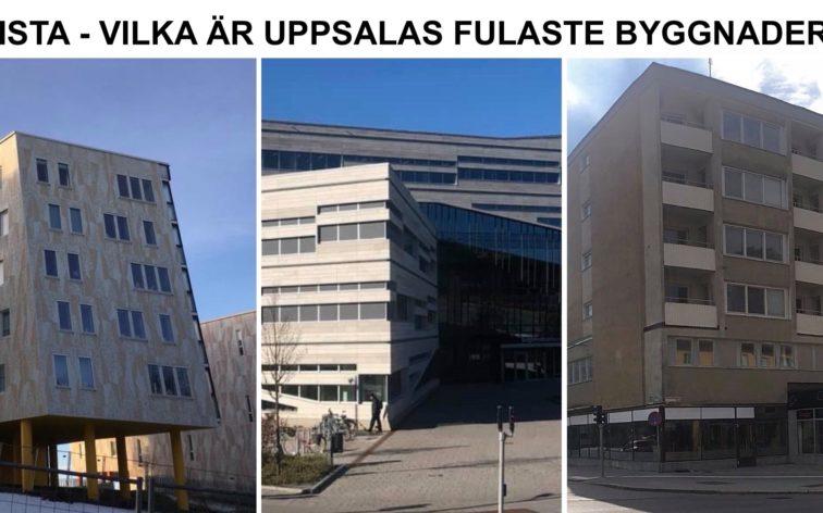 Lista - Uppsalas fulaste byggnader.