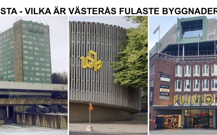 Lista - Västerås fulaste byggnader.